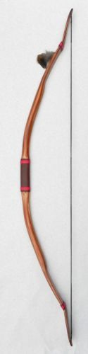 Archery-Recurve-40-45-lb-Native-American-Buckskin-Bow-60-Leather-Handle