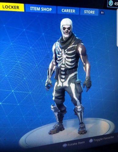 Fortnite Account Include 50 Skins Include Skull Trooper Max Omega