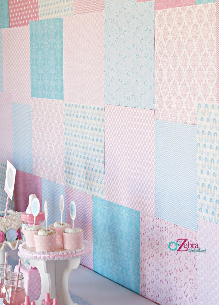 Baby Revealing Party #backdrop