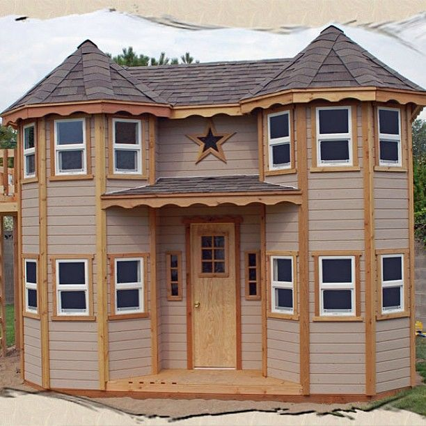 Trending 19 Home Decor And More Collingwood Address Play Houses Castle Playhouse Plans Build A Playhouse