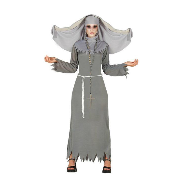 Disfraz de Monja Diabólica #disfraces #halloween