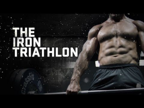 The Iron Triathlon WOD with Jason Khalipa and Dan Bailey