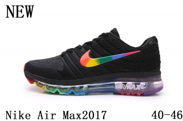 NIKE AIR MAX 2017 KPU mens Athletic Sneakers shoes Black
