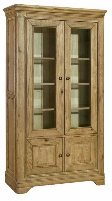 Loire Oak Display Cabinet £595.00