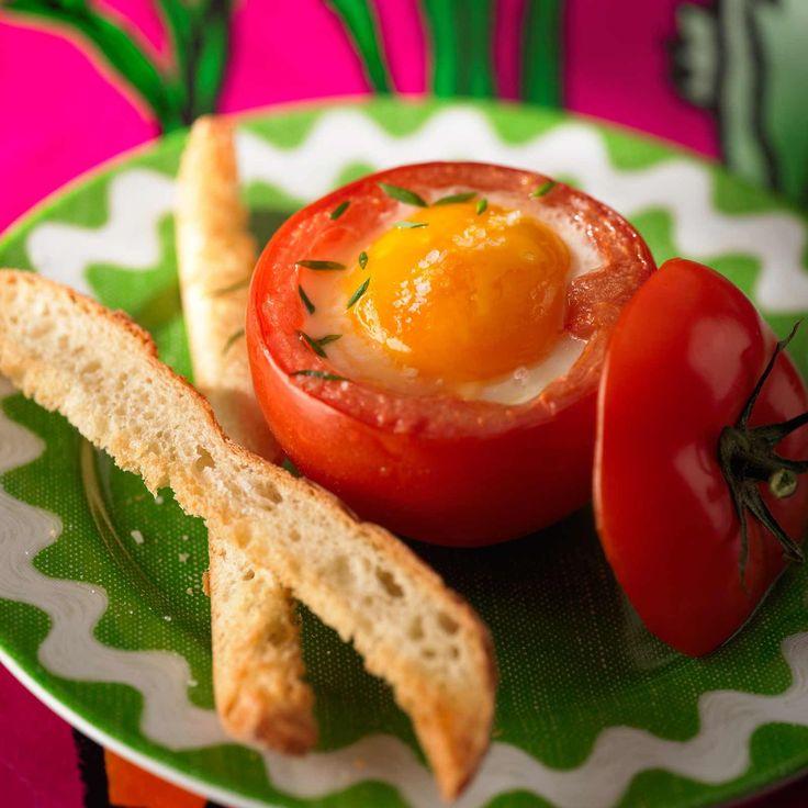 Découvrez la recette Tomate surprise sur cuisineactuelle.fr.