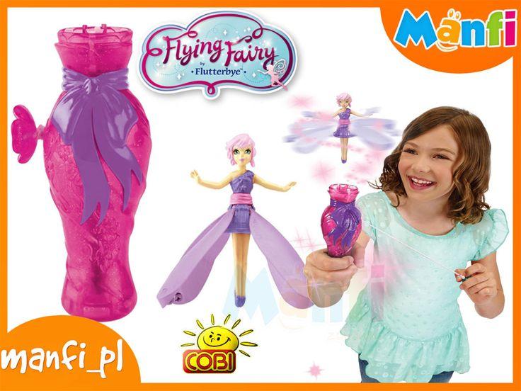 Flutterbye LATAJĄCA WRÓŻKA Tańczy Fairy COBI RÓŻ
