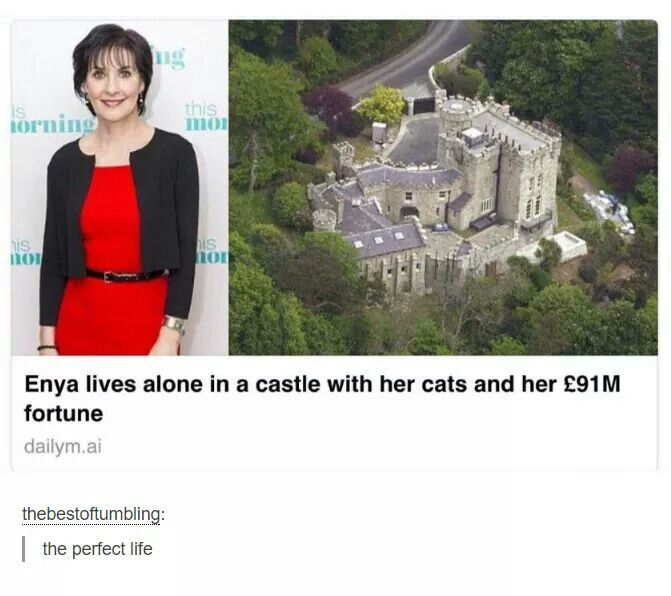 Why am I not Enya and why do people not love her as much as I do?