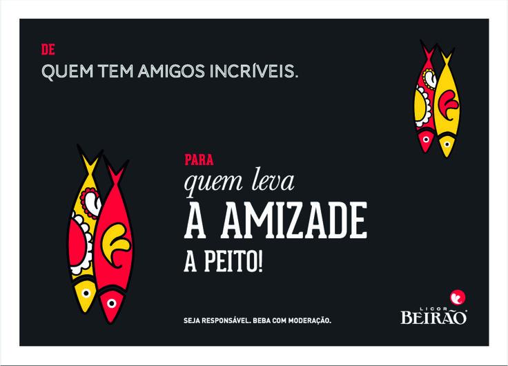 Para os amigos do peito, que estão sempre presentes e nunca dizem 'não' a um copo de Beirão!