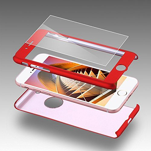 Feature: iPhone 7 Case: Full 360 Degree Coverage iPhone 7 Cover: Includes a FREE 0.3m 9H Tempered Glass Screen Protector iPhone 7 Cases: Designed to handles all bumps, drops, and shock for all of your phone's flips and twists iPhone 7 Covers: Precise openings on the protector case to allow access to all controls and …
