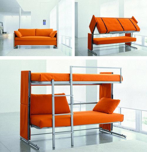 Двухъярусные кровати-трансформер для подростков