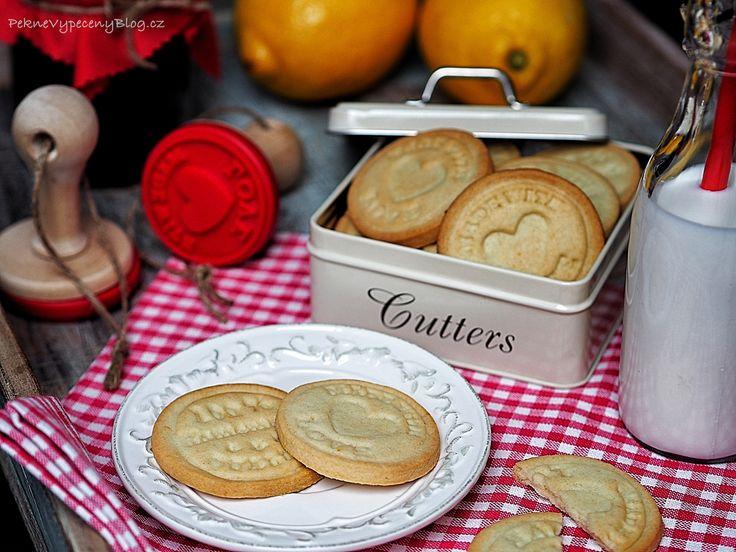 Citronové sušenky – razítkuje celá rodina
