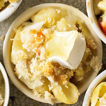 Macaroni and Brie with Crab | Yummmmmm | Pinterest