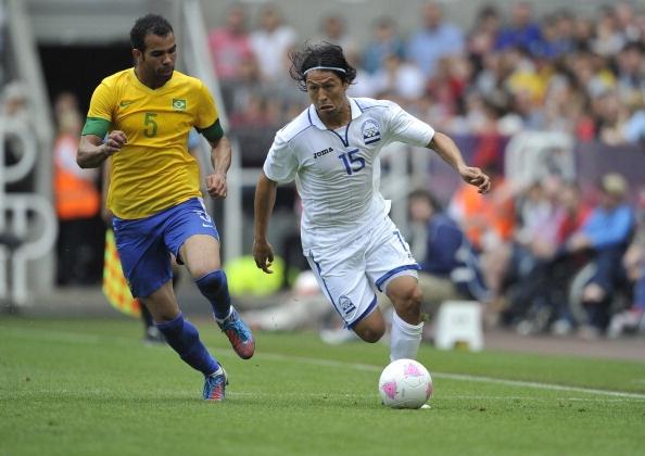 Roger Espinoza - Hondouras Midfielder (48' minute). Scored a goal to put Honduras 2-1 ahead of Brazil.  Honduras eventually lost the match to Brazil 2-3.