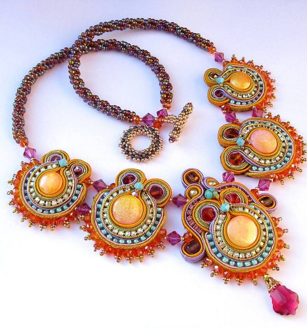 Oriental Sunrise necklace | Flickr - Photo Sharing!