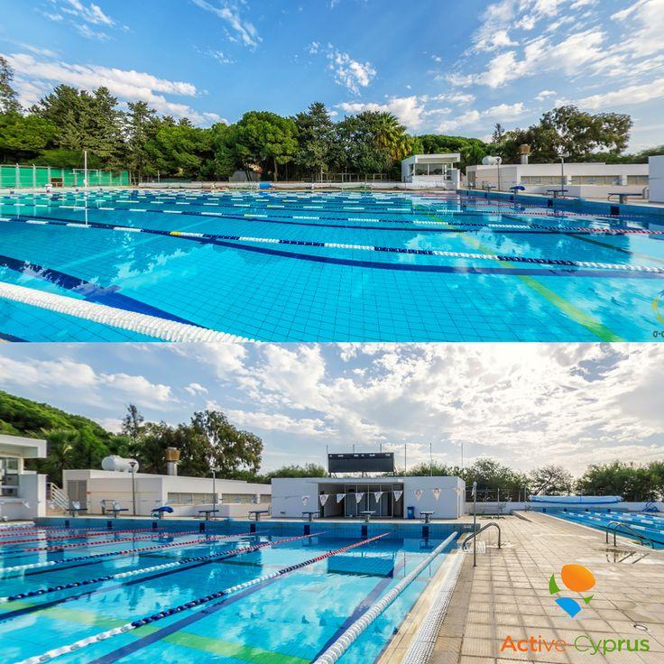 """Открытый 50-ти метровый олимпийский бассейн находится в городе Лимассол, на берегу Средиземного моря в эвкалиптовом парке """"Дассуди"""". Во время тренировок по плаванию спортсмены вдыхают летучие вещества, выделяемые листьями эвкалипта, а также кислород и йод морского бриза. Это позволяет обогатить кровь необходимыми полезными элементами, делая тренировки суперэффективными. В бассейне 8 дорожек. Глубина бассейна - 2 м. Рядом расположен 25-ти метровый бассейн, 4 дорожки, его глубина 1.3 м."""