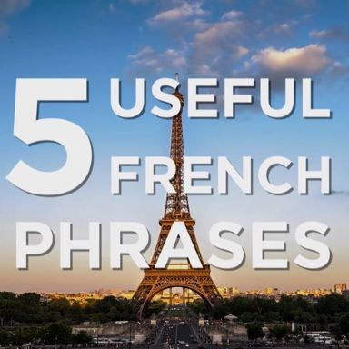 5 Useful French Phrases