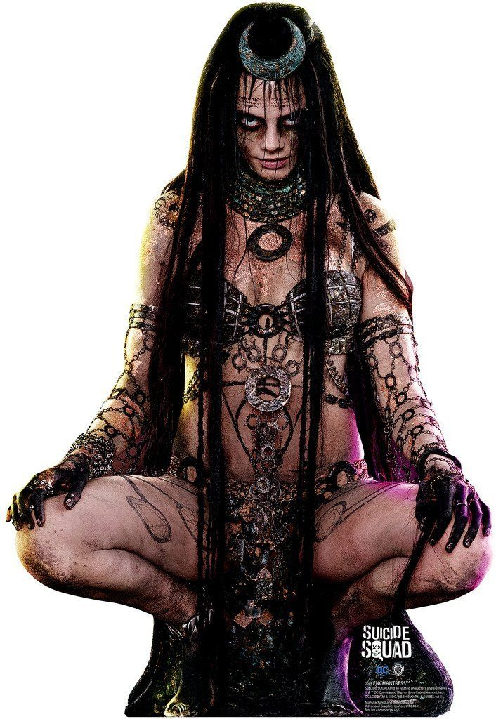 Amazon.com: Enchantress - Suicide Squad (2016) - Advanced Graphics Life Size Cardboard Standup: Posters & Prints