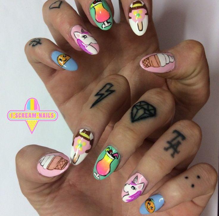 I Scream Nails - Nail Art」の...