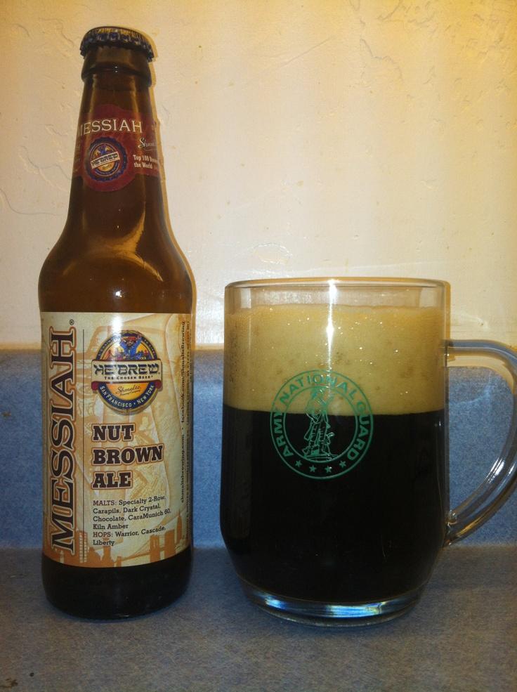 he brew messiah nut brown ale shmaltz brewing company saratoga springs new