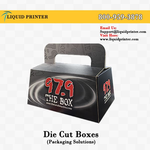 We provide #DiecutBoxes with full color printing.