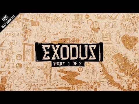 The Bible Project - Great animated video for understanding the meaning and message of Exodus Ch #1-18 [READ SCRIPTURE Series]
