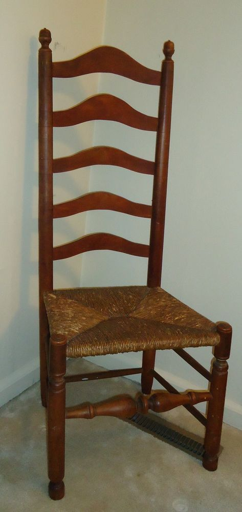 2X 18th Century Delaware Valley Ladder Back Ladderback Chairs Important and  Fine #DelawareValley - 59 Best Ladder Back Chairs Images On Pinterest Chairs, Aesthetic