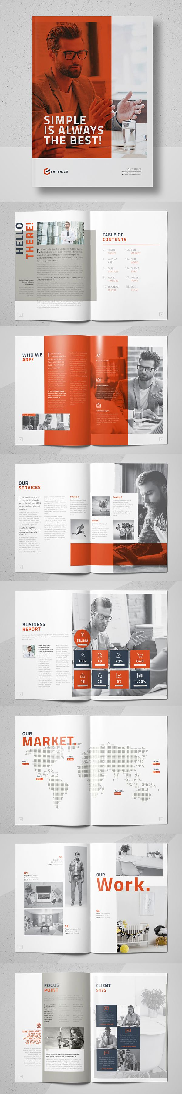 Equilux Brochure Template #annualreport #booklet #brochuredesign #brochuretemplates #fashioncatalog #catalogdesign