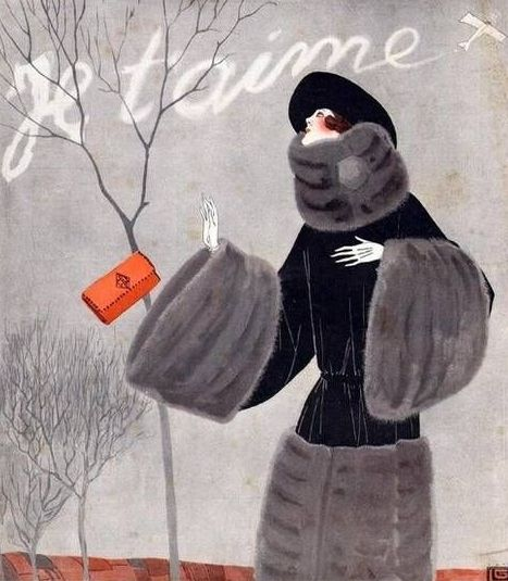 Illustration by George LeonnecFor La Vie ParisienneNovember 1922
