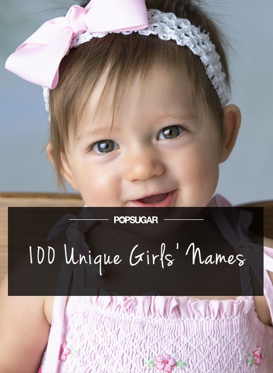 100 Unique Yet Beautiful Girls' Names