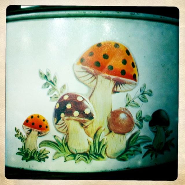 mushroom cake tin