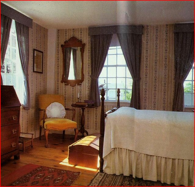 302 best early colonial primitive looking images on for Colonial bedroom ideas