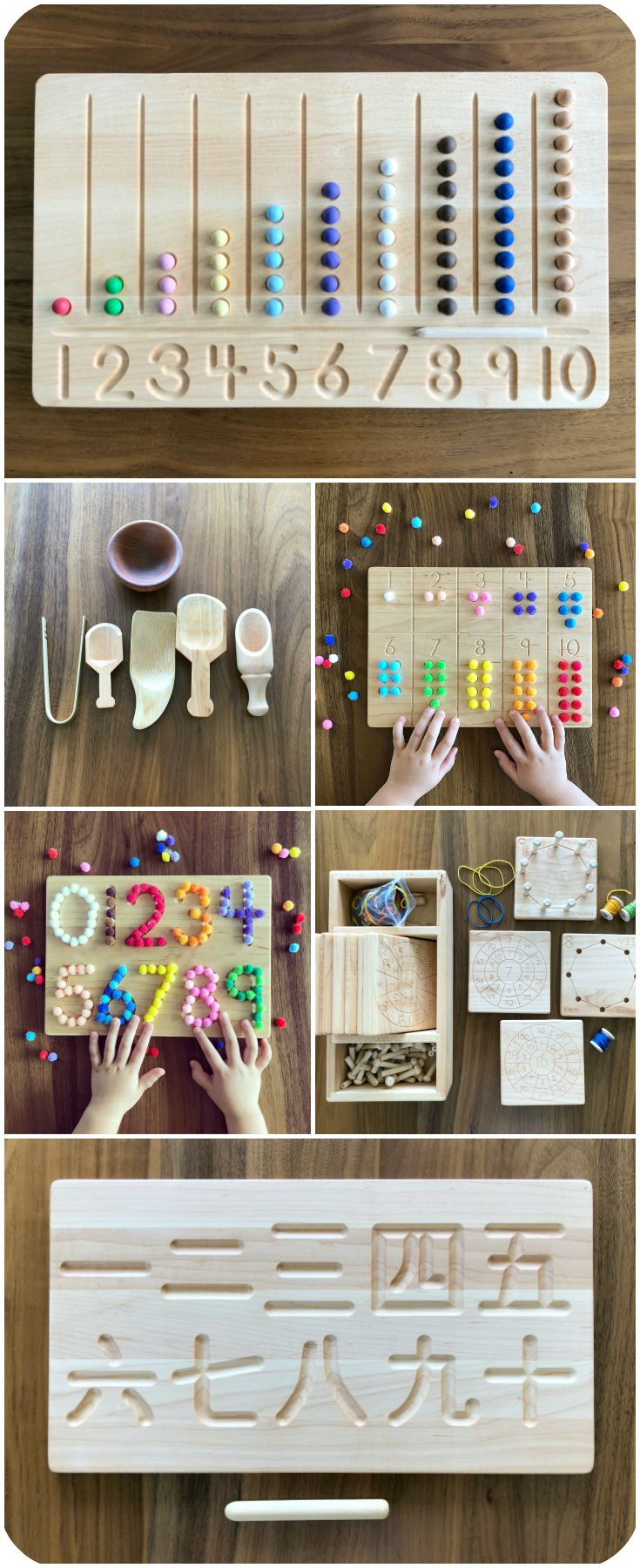 Montessori Toys and Homeschool Materials on Etsy