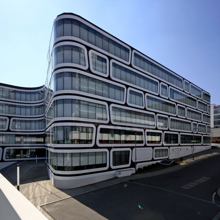 Z-Up Office Building Stuttgart by Wolfgang Kerganer architects #stuttgart # architecture