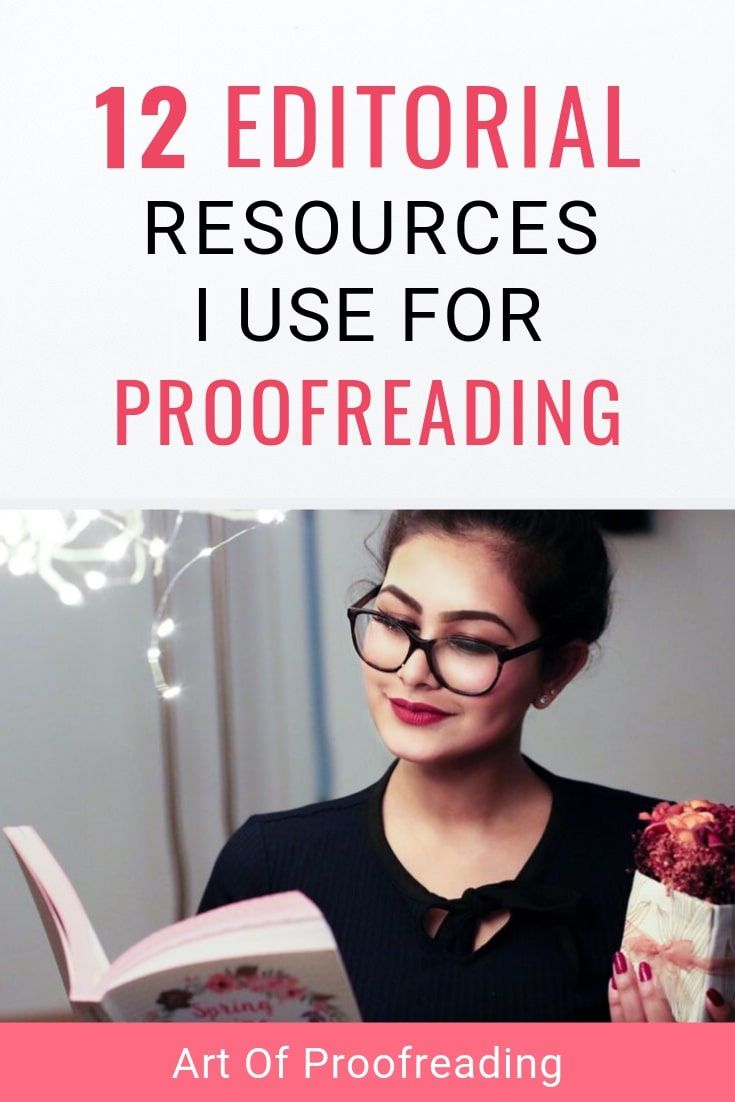 12 Editorial resources I use for proofreading