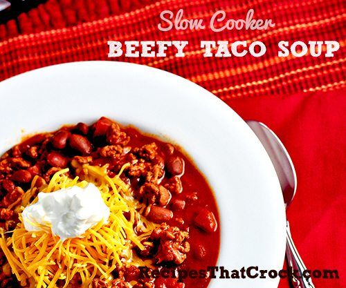 Are you looking for a way to change up Taco Night? This Slow Cooker Beefy Taco Soup is fantastic on its own or as a starter to a great Taco Salad. The original inspiration for this recipe comes from Gooseberry Patch's Everyday Simple Suppers. MY LATEST RECIPES I was all set… with my beef, tomatoes, beans...Read More »