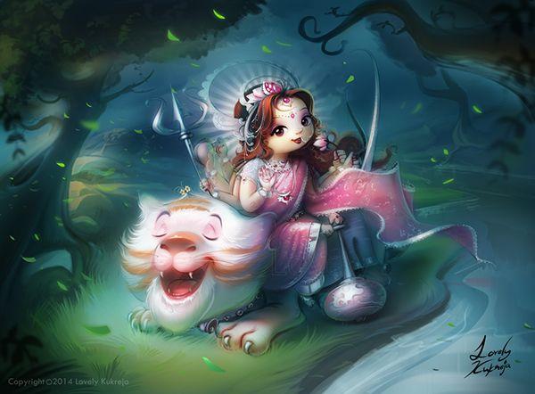 Maa Durga on Behance