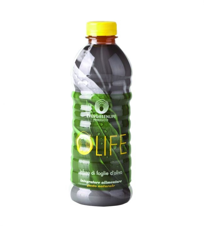 Olife 1000 ml  contains 93% of OLIVUM®, our exclusive olive tree leaves' water infusion rich in Oleuropein, Elenolic Acid, Rutin and the efficient antioxidant Hydroxytirosol.  www.evergreenlife.it/soniademagistra