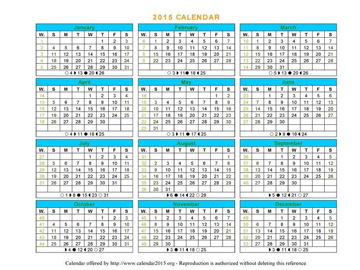 microsoft calendar 2015