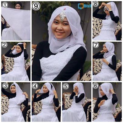 Tutorial Hijab untuk Pesta / Hijab Tutorial for Party ...