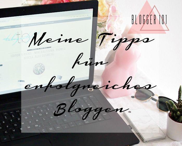 Tipps erfolgreiches Bloggen