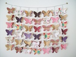yet another gorgeous idea for a room divider, just make it 10 times bigger :))