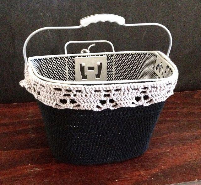 41 best images about Crochet bike basket on Pinterest ...