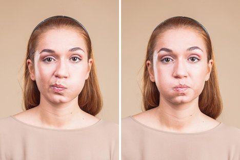 I svaly obličeje můžete posílit tak, aby vám pevně držely a nevytvářely povisem vrásky; Jakub Jurdič