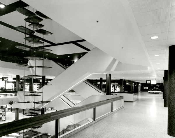 Escalators At Southland Shopping Centre 1968
