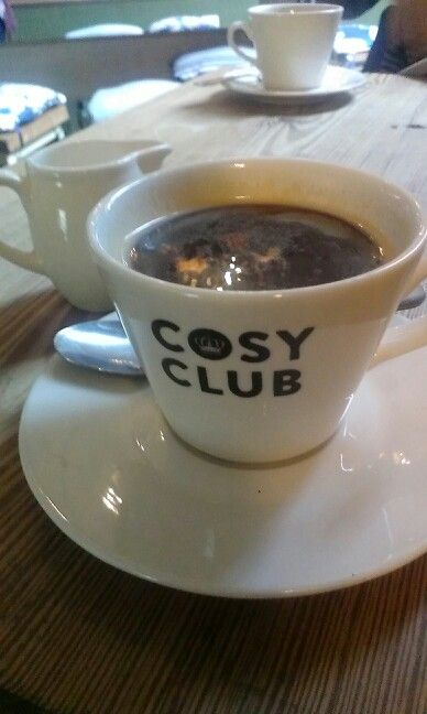 Cosy Club..welcoming on a rainy day like today!