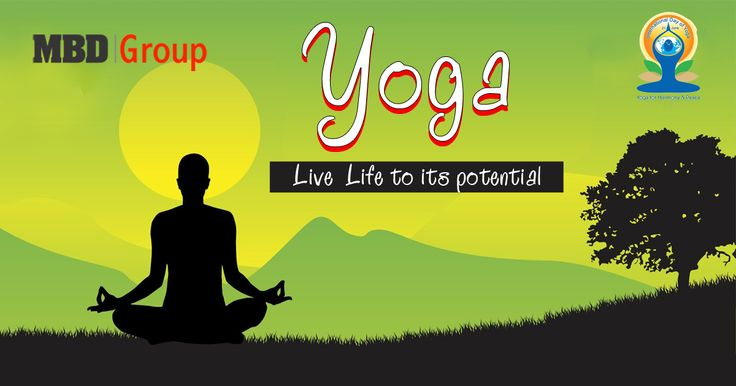 Amalgamation of healthy and unstressed life: Yoga in student's life