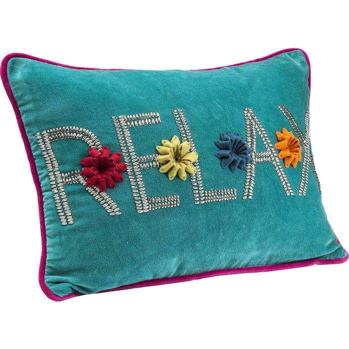 Cushion Relax Light Blue 35x50cm - KARE Design
