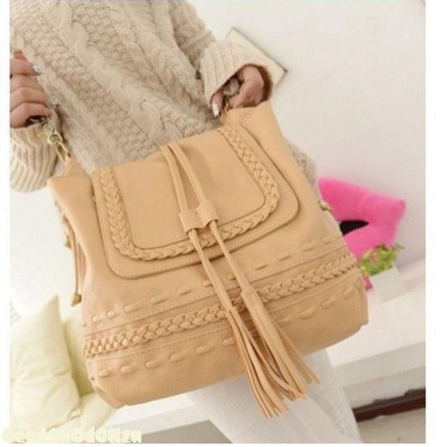 2015 Women Versatile Handbag Soft Offer PU Leather bags Zipper Messenger Bag/ Splice Grafting Vintage Shoulder Crossbody Bags