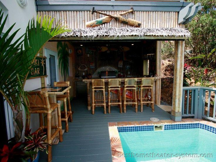 Tiki Backyard Ideas how to create a tropical tiki backyard Find This Pin And More On Tiki Barbackyard Pavilion