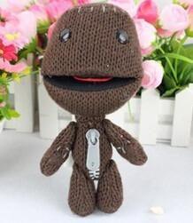 1pc16CM Little Big Planet Plush Toy Sackboy Cuddly Knitted Stuffed Doll Figure Toys Cute Kids Animal Comfort Doll